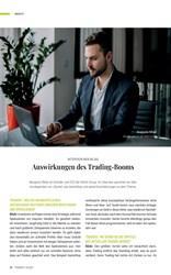 Titelbild der Ausgabe 4/2021 von Auswirkungen des Trading-Booms. Zeitschriften als Abo oder epaper bei United Kiosk online kaufen.