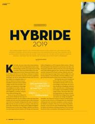 Titelbild der Ausgabe 1/2019 von KAUFBERATUNG: HYBRIDE 2019. Zeitschriften als Abo oder epaper bei United Kiosk online kaufen.