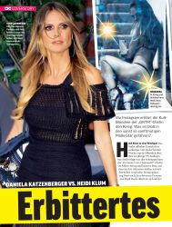 Titelbild der Ausgabe 20/2018 von COVERSTORY: DANIELA KATZENBERGER VS. HEIDI KLUM: Erbittertes Duell. Zeitschriften als Abo oder epaper bei United Kiosk online kaufen.