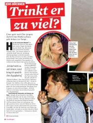 Titelbild der Ausgabe 21/2018 von JENS BÜCHNER: Trinkt er zu viel?. Zeitschriften als Abo oder epaper bei United Kiosk online kaufen.