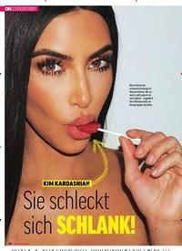 Titelbild der Ausgabe 23/2018 von COVERSTORY: KIM KARDASHIAN: Sie schleckt sich SCHLANK!. Zeitschriften als Abo oder epaper bei United Kiosk online kaufen.