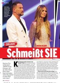 Titelbild der Ausgabe 23/2018 von EXKLUSIV: HEIDI KLUM: Schmeißt SIE Hayo raus?. Zeitschriften als Abo oder epaper bei United Kiosk online kaufen.