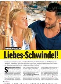 Titelbild der Ausgabe 25/2018 von EVELYN BURDECKI: Liebes-Schwindel! Nutzt sie IHN nur aus?. Zeitschriften als Abo oder epaper bei United Kiosk online kaufen.