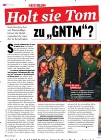 """Titelbild der Ausgabe 29/2018 von HEIDI KLUM: Holt sie Tom zu """"GNTM""""?. Zeitschriften als Abo oder epaper bei United Kiosk online kaufen."""