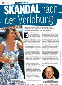 Titelbild der Ausgabe 30/2018 von JUSTIN BIEBER: SKANDAL nach der Verlobung. Zeitschriften als Abo oder epaper bei United Kiosk online kaufen.