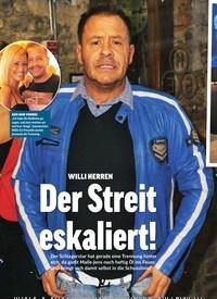 Titelbild der Ausgabe 31/2018 von WILLI HERREN: Der Streit eskaliert!. Zeitschriften als Abo oder epaper bei United Kiosk online kaufen.