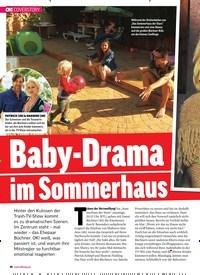Titelbild der Ausgabe 32/2018 von Baby-Drama im Sommerhaus. Zeitschriften als Abo oder epaper bei United Kiosk online kaufen.