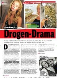 Titelbild der Ausgabe 33/2018 von BROOKLYN BECKHAM: Drogen-Drama. Zeitschriften als Abo oder epaper bei United Kiosk online kaufen.