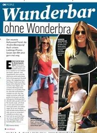 Titelbild der Ausgabe 33/2018 von Wunderbar: ohne Wonderbra. Zeitschriften als Abo oder epaper bei United Kiosk online kaufen.