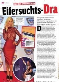 Titelbild der Ausgabe 35/2018 von DANIELA KATZENBERGER: Eifersuchts-Drama. Zeitschriften als Abo oder epaper bei United Kiosk online kaufen.