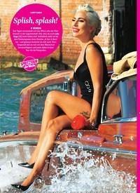 Titelbild der Ausgabe 37/2018 von LADY GAGA: Splish, splash!. Zeitschriften als Abo oder epaper bei United Kiosk online kaufen.
