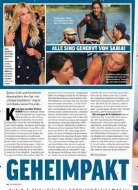 Titelbild der Ausgabe 37/2018 von SABIA BOULAHROUZ: GEHEIMPAKT gegen Sabia!. Zeitschriften als Abo oder epaper bei United Kiosk online kaufen.
