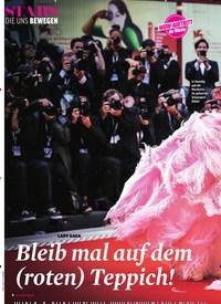 Titelbild der Ausgabe 38/2018 von LADY GAGA: Bleib mal auf dem (roten) Teppich!. Zeitschriften als Abo oder epaper bei United Kiosk online kaufen.