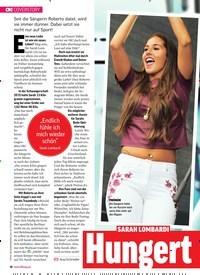 Titelbild der Ausgabe 38/2018 von COVERSTORY: SARAH LOMBARDI: Hungert sie aus Liebe?. Zeitschriften als Abo oder epaper bei United Kiosk online kaufen.