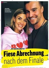 """Titelbild der Ausgabe 38/2018 von PEOPLE: """"DIE BACHELORETTE"""" : Fiese Abrechnung nach dem Finale. Zeitschriften als Abo oder epaper bei United Kiosk online kaufen."""