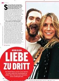 Titelbild der Ausgabe 38/2018 von HEIDI KLUM: LIEBE ZU DRITT. Zeitschriften als Abo oder epaper bei United Kiosk online kaufen.