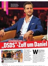 """Titelbild der Ausgabe 39/2018 von ALEXANDER KLAWS: """"DSDS""""-Zoff um Daniel Küblböck. Zeitschriften als Abo oder epaper bei United Kiosk online kaufen."""