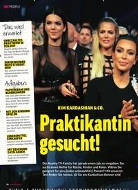 Titelbild der Ausgabe 41/2018 von KIM KARDASHIAN & CO.: Praktikantin gesucht!. Zeitschriften als Abo oder epaper bei United Kiosk online kaufen.