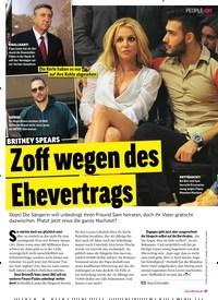 Titelbild der Ausgabe 41/2018 von BRITNEY SPEARS: Zoff wegen des Ehevertrags. Zeitschriften als Abo oder epaper bei United Kiosk online kaufen.