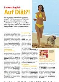 Titelbild der Ausgabe 46/2018 von Lebenslänglich: Auf Diät?!. Zeitschriften als Abo oder epaper bei United Kiosk online kaufen.
