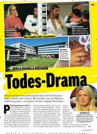 Titelbild der Ausgabe 48/2018 von JENS & DANIELA BÜCHNER: Todes-Drama. Zeitschriften als Abo oder epaper bei United Kiosk online kaufen.