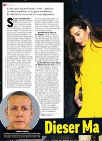 Titelbild der Ausgabe 48/2018 von AMAL & GEORGE CLOONEY: Dieser Mann will sie töten!. Zeitschriften als Abo oder epaper bei United Kiosk online kaufen.