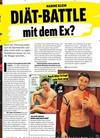 Titelbild der Ausgabe 50/2018 von NADINE KLEIN:DIÄT-BATTLE mit dem Ex?. Zeitschriften als Abo oder epaper bei United Kiosk online kaufen.