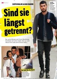 Titelbild der Ausgabe 1/2019 von ZAYN MALIK & GIGI HADID: Sind sie längst getrennt?. Zeitschriften als Abo oder epaper bei United Kiosk online kaufen.