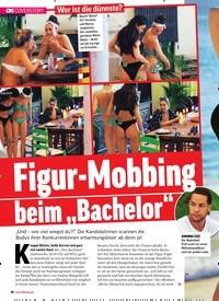 """Titelbild der Ausgabe 4/2019 von Figur-Mobbing beim """"Bachelor"""". Zeitschriften als Abo oder epaper bei United Kiosk online kaufen."""