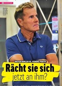 Titelbild der Ausgabe 8/2019 von COVERSTORY: DIETER BOHLEN VS. VERONA POOTH: Rächt sie sich jetzt an ihm?. Zeitschriften als Abo oder epaper bei United Kiosk online kaufen.