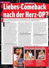 Titelbild der Ausgabe 10/2019 von LENA GERCKE: Liebes-Comeback nach der Herz-OP?. Zeitschriften als Abo oder epaper bei United Kiosk online kaufen.