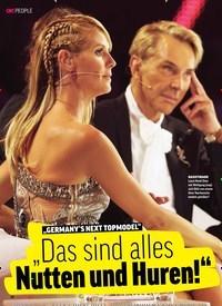 """Titelbild der Ausgabe 10/2019 von """"GERMANY'S NEXT TOPMODEL"""":""""Das sind alles Nutten und Huren!"""". Zeitschriften als Abo oder epaper bei United Kiosk online kaufen."""