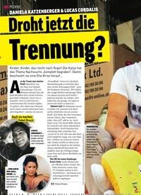 Titelbild der Ausgabe 10/2019 von DANIELA KATZENBERGER & LUCAS CORDALIS: Droht jetzt die Trennung?. Zeitschriften als Abo oder epaper bei United Kiosk online kaufen.