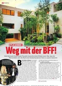 Titelbild der Ausgabe 10/2019 von KYLIE JENNER: Weg mit der BFF!. Zeitschriften als Abo oder epaper bei United Kiosk online kaufen.