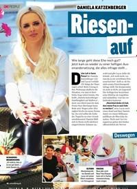 Titelbild der Ausgabe 16/2019 von DANIELA KATZENBERGER: Riesen Zoff auf Mallorca. Zeitschriften als Abo oder epaper bei United Kiosk online kaufen.