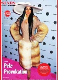 Titelbild der Ausgabe 18/2019 von DIE UNS BEWEGEN: CARDI B: Pelz- Provokation: AUFREGER der Woche. Zeitschriften als Abo oder epaper bei United Kiosk online kaufen.