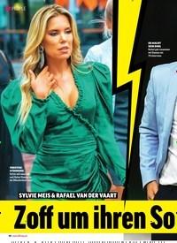 Titelbild der Ausgabe 19/2019 von SYLVIE MEIS & RAFAEL VAN DER VAART: Zoff um ihren Sohn!. Zeitschriften als Abo oder epaper bei United Kiosk online kaufen.