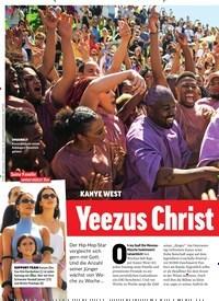 Titelbild der Ausgabe 19/2019 von KANYE WEST: Yeezus Christ Superstar. Zeitschriften als Abo oder epaper bei United Kiosk online kaufen.