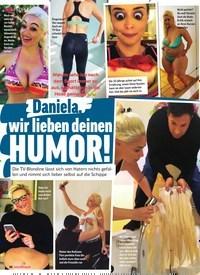 Titelbild der Ausgabe 23/2019 von Daniela: wir lieben deinen Humor!. Zeitschriften als Abo oder epaper bei United Kiosk online kaufen.