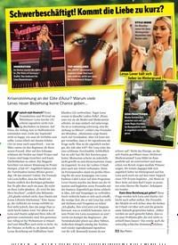 Titelbild der Ausgabe 28/2019 von Schwerbeschäftigt! Kommt die Liebe zu kurz?. Zeitschriften als Abo oder epaper bei United Kiosk online kaufen.