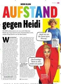 Titelbild der Ausgabe 28/2019 von HEIDI KLUM: AUFSTAND gegen Heidi. Zeitschriften als Abo oder epaper bei United Kiosk online kaufen.