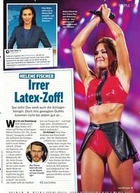 Titelbild der Ausgabe 37/2019 von HELENE FISCHER: Irrer Latex-Zoff!. Zeitschriften als Abo oder epaper bei United Kiosk online kaufen.