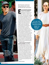 Titelbild der Ausgabe 38/2019 von Brad Pitt & Angelina Jolie: Alkohol-beichte Nimmt sie ihm die Kinder weg?. Zeitschriften als Abo oder epaper bei United Kiosk online kaufen.