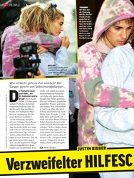Titelbild der Ausgabe 38/2019 von Justin Bieber: Verzweifelter HILFESC. Zeitschriften als Abo oder epaper bei United Kiosk online kaufen.