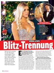 Titelbild der Ausgabe 38/2019 von GERDA LEWIS: Blitz-Trennung nach dem Finale?. Zeitschriften als Abo oder epaper bei United Kiosk online kaufen.