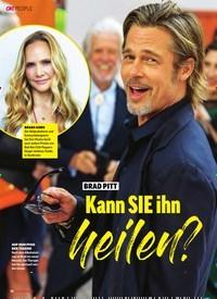 Titelbild der Ausgabe 41/2019 von Brad Pitt: Kann SIE ihn heilen?. Zeitschriften als Abo oder epaper bei United Kiosk online kaufen.