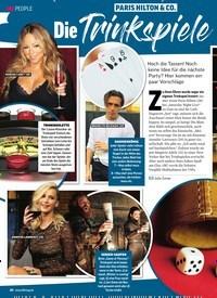 Titelbild der Ausgabe 41/2019 von Paris Hilton & Co.: Die Trinkspiele der Stars. Zeitschriften als Abo oder epaper bei United Kiosk online kaufen.
