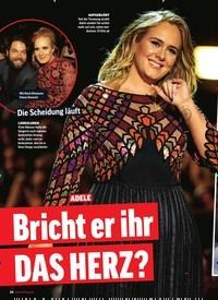 Titelbild der Ausgabe 42/2019 von ADELE: Bricht er ihr DAS HERZ?. Zeitschriften als Abo oder epaper bei United Kiosk online kaufen.