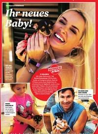 Titelbild der Ausgabe 43/2019 von DANIELA KATZENBERGER: Ihr neues Baby!. Zeitschriften als Abo oder epaper bei United Kiosk online kaufen.