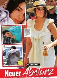 Titelbild der Ausgabe 43/2019 von SELENA GOMEZ: Neuer Absturz wegen Justin. Zeitschriften als Abo oder epaper bei United Kiosk online kaufen.